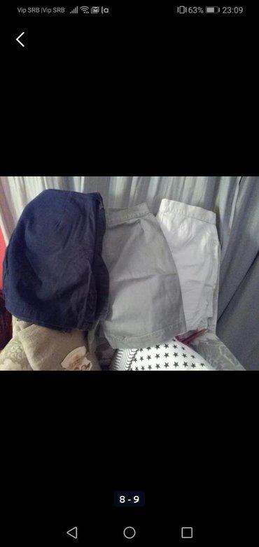 Suknjahlače, vise boja nošene al očuvane