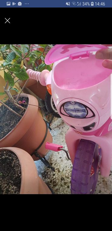 Fisher Price Barbie tricycle, with lights and sound! Attached walkie σε Kallithea - εικόνες 4