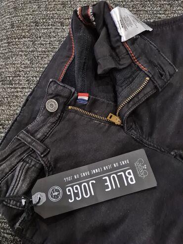 Очень классные джинсы стрейч на мальчика или на девочку.цвет черный