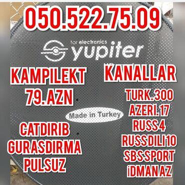IT, internet, telekom - Azərbaycan: KrosnaDesti 79 aznKanallarTurk 300Azeri 17Russ 4Russ dili 10Sbs