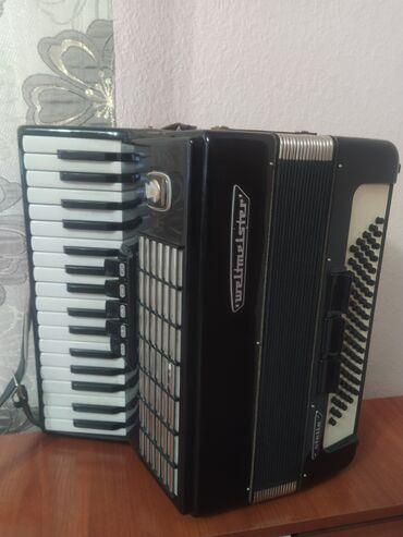 Музыкальные инструменты - Кыргызстан: Продаю аккордион в хорошем состоянии