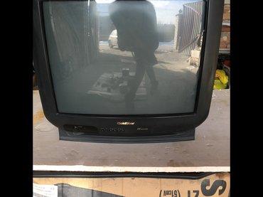 Старый цветной телевизор в Бишкек