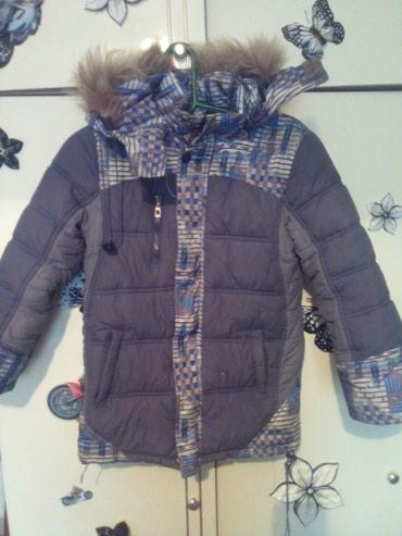Зимняя куртка для мальчика в отличном состоянии,8-10лет в Бишкек