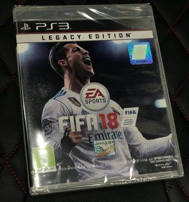 Bakı şəhərində Playstation 3 fifa 18 oyunu