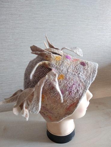 1500 сомов. Войлочная шапочка ( ручная в Бишкек