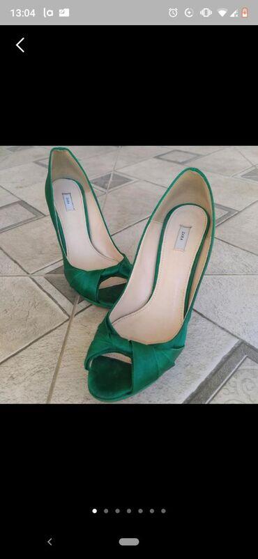 Женская обувь в Талас: Туфли zara original (оригинал) made in spain (испания) новое  качество
