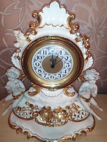 İtaliya istehsalı Costerano Bruno markası farfor saat.Teze.750 manat