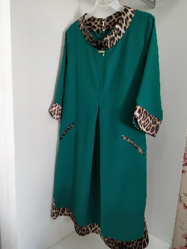 теплое платье батал в Кыргызстан: Продаю платье одевала всего один раз производство Турция, очень