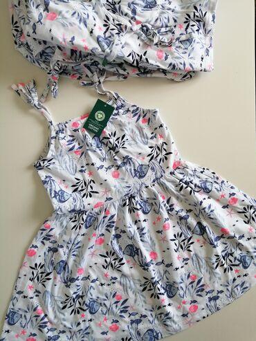 Za decu - Srbija: Nove haljinice od organskog pamuka. Leprsave, mekane, izuzetno