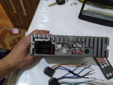 Авто магнитола, с USB, AUX, дополнительно пульт и мульти руль
