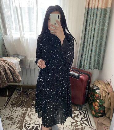 маленькое черное платье для полных в Кыргызстан: Продаю платье .  очень удобное для скромных девушек самое то ))  Р