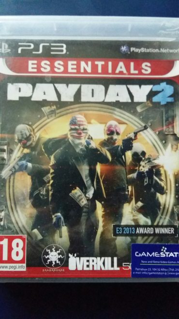 Payday 2 game of the year 2013 σε Kavala