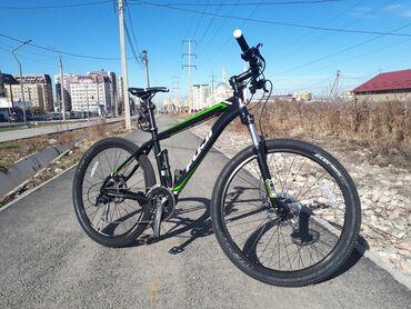 """купить титановые диски на ниву в Кыргызстан: Продаю велосипед Fuji nevada 1.5Размер рамы: 17""""Размер колёс"""