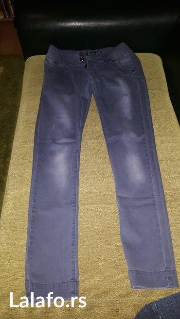 Pantalone-farmerice-br - Srbija: Farmerice malo nosene u odlicnom stanju, broj 29, duzina nogavice od