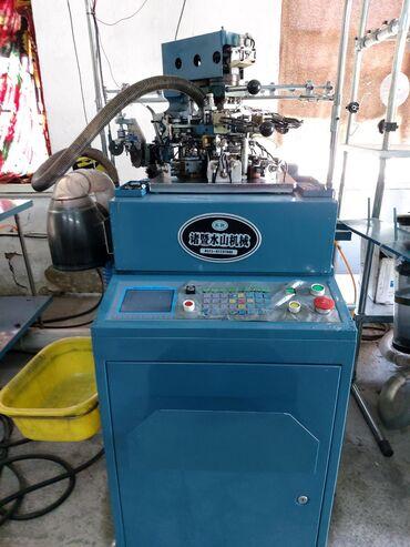 станок токарно винторезный повышенной точности в Кыргызстан: Продается носочный бизнес. Основное оборудование -10 б/у носочных