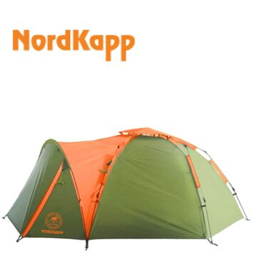 Палатки - Бишкек: Палатка NordKapp SUOMA 4 .Полуавтоматическая четырёхместная