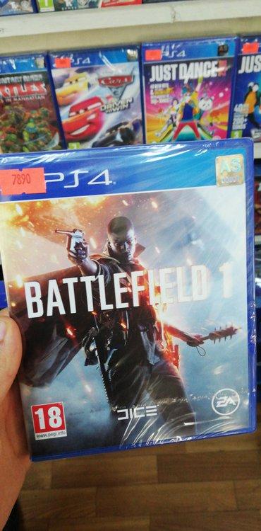 Bakı şəhərində Ps4 üçün Battlefield 1 oyun diski satılır Yenidir bağlı upokovkada
