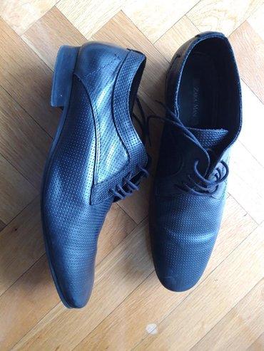 Muske kozne torbice - Srbija: Zara kozne muske cipele, br. 45, jednom nosene