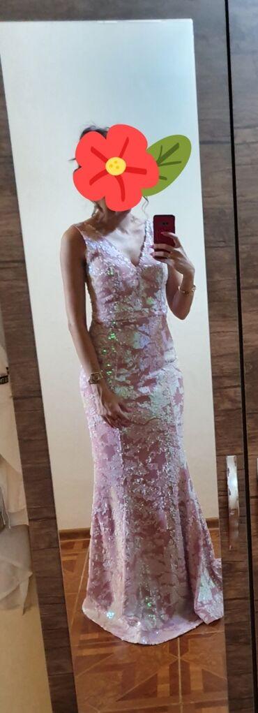 ведущий на свадьбу в Азербайджан: Вечернее платье. S размер. Покупала за 500. 2раза надевала, на хнаяхды