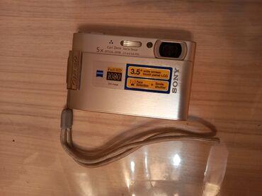 cyber shot sony в Кыргызстан: Продаю фотоаппарат Sony Cyber-shot серебр.цвета 8,1 Mega pixels Full H