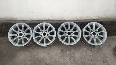 диски r15 цена в Кыргызстан: ПРОДАЮ ДИСКИ BMW 166 STYLE R15 7J ET35 РАЗБОЛТОВКА 5*120 НЕДАВНО