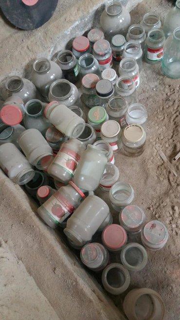 Кухонные принадлежности в Балыкчы: Продам банки от томатной пасты, 3 литровые банки 5 литровые баклашки