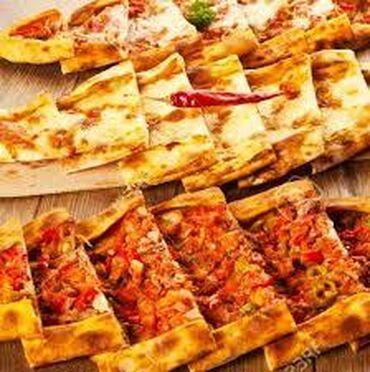 Aşpaz Pizza ustası. 1 ildən az təcrübə. Restoran