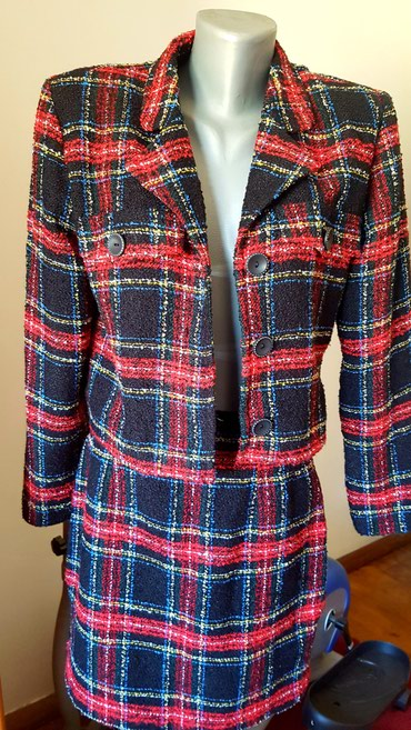 Sako suknja komplet - Srbija: Komplet Suknja i jaknica (sako) vel 38 ili M kao novo