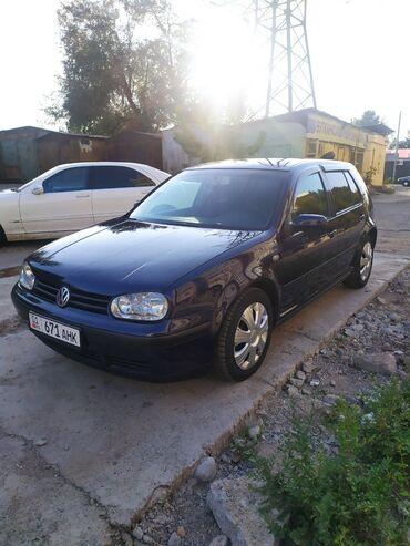 Автомобили - Бишкек: Volkswagen Golf 1.6 л. 2000 | 240 км