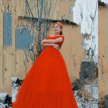 шикарное платье для полных в Кыргызстан: Шикарное красное платье. По всем вопросам писать, не звонить