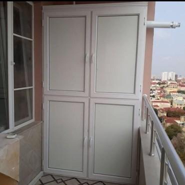 Bakı şəhərində Şkaf balkon