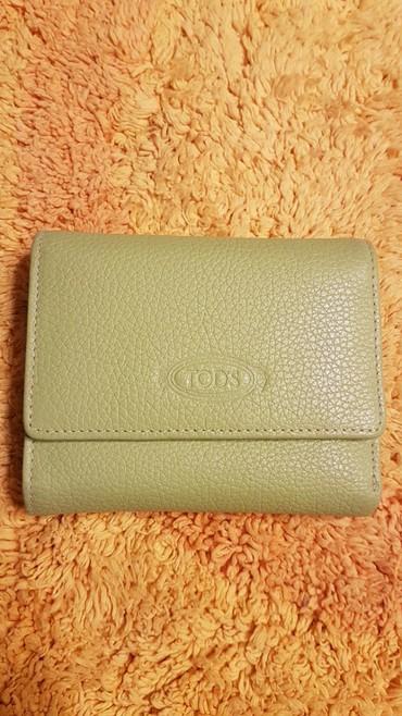 сумки из кожи итальянские в Кыргызстан: Женский кошелёк из настоящей кожи знаменитого итальянского бренда Tod'
