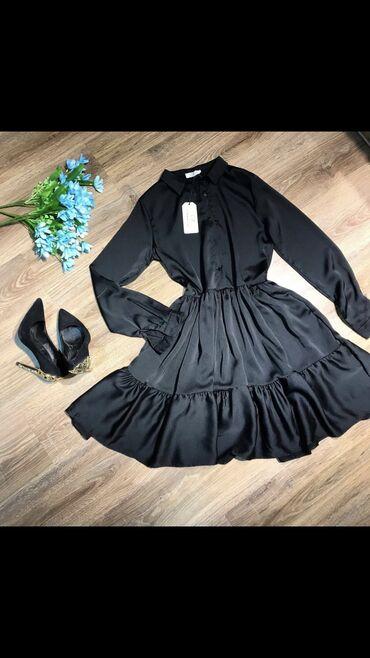 Новое турецкое,атласное платье!Размер -38(М)Длина -на 5 см выше