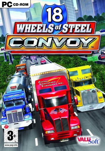 18 Wheels of Steel Convoy-igeica za kompjuter,nije za PS. - Negotin