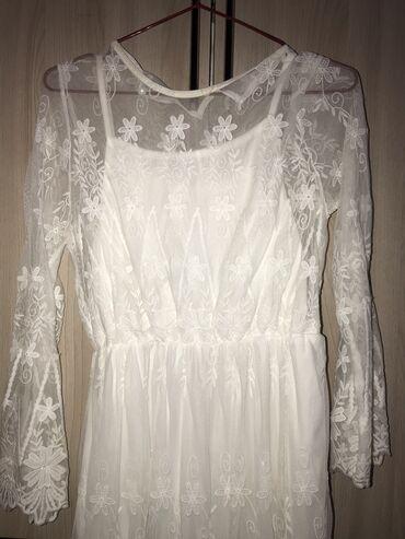 Продаю очень нежное платье совсем не носила размер s/m