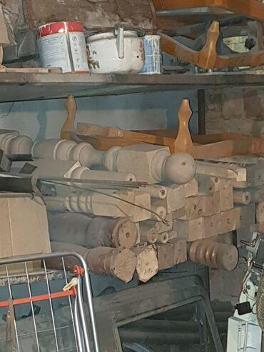 Балясины новые (стойки для перил, для лестницы), (73х9х4,5см)