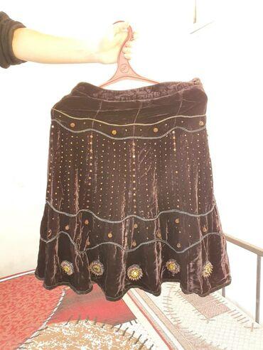 Продаю юбку, качество супер.  Натуральный тонкий шёлковый бархат