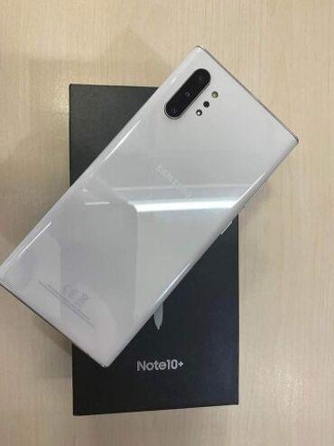 Καινούργιο Samsung Note 10 Plus 256 GB άσπρο