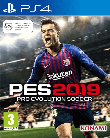 PES 2019 для PS4 Самые низкие цены на игры от PS4 в Бишкеке GAMESTORE в Бишкек