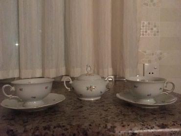 Чайный набор: 2 чашки с блюдцами и в Bakı