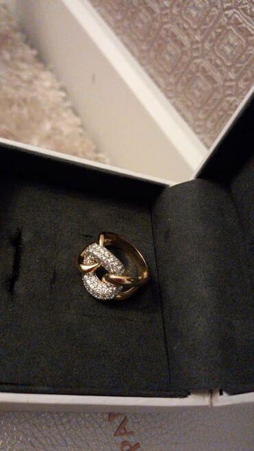 Аксессуары - Бишкек: Новое очень красивое кольцо из желтого золото 585 проба,вес 6.88