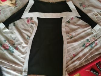 Nova elegantna crno bela haljina - Kragujevac