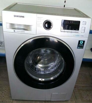 б у стиральная в Кыргызстан: Автоматическая Стиральная Машина Samsung 6 кг