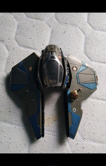 Rc avion - Srbija: Star Wars, original Transformers. Transformiše se u avion. Cena je
