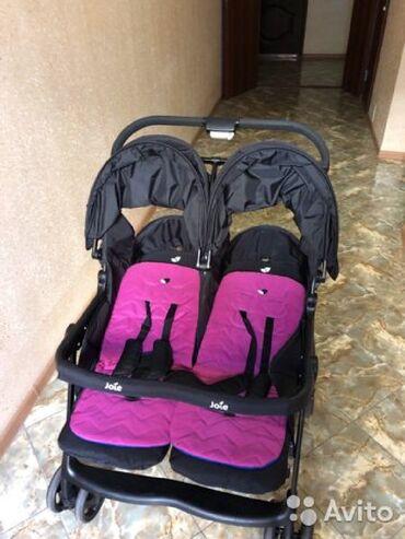 sagem myx 1 twin в Кыргызстан: Детская коляска для двойни Joie Aire Twin – прогулки с комфортом!