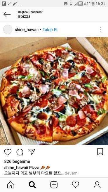 Bakı şəhərində Ailevi restorana pizzaci oglan teleb olunur.Is vaxti saat 09:00-dan
