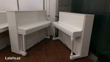 Bakı şəhərində Almaniya istehsalı blüthner piansu - nadir rastlanan aletdir.