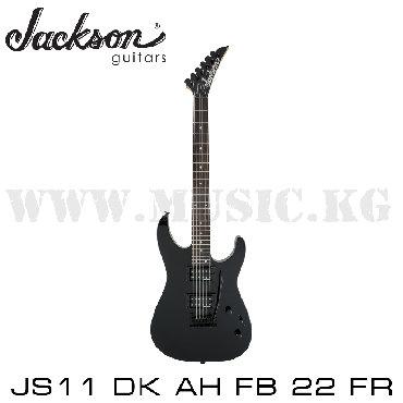 Электрогитара JACKSON JS11 DK AH FB 22 Fr BLK - это шестиструнная
