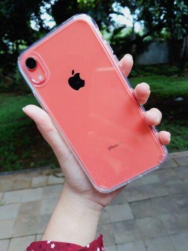 Мобильные телефоны - Бишкек: Б/У iPhone Xr 128 ГБ Коралловый