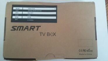 tv box - Azərbaycan: SMART Tv box.Açılmamış qutuda. Üzərində bluetooth klaviatura da